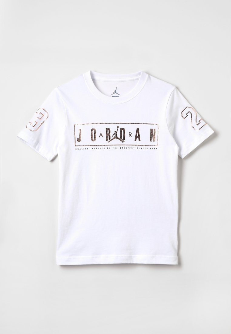 Jordan - BLING - Triko spotiskem - white