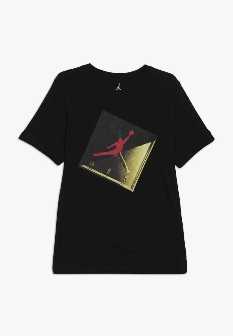 Jordan - SLASH TEE - T-shirts med print - black