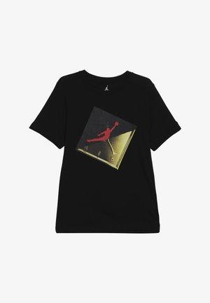 SLASH TEE - T-shirt imprimé - black