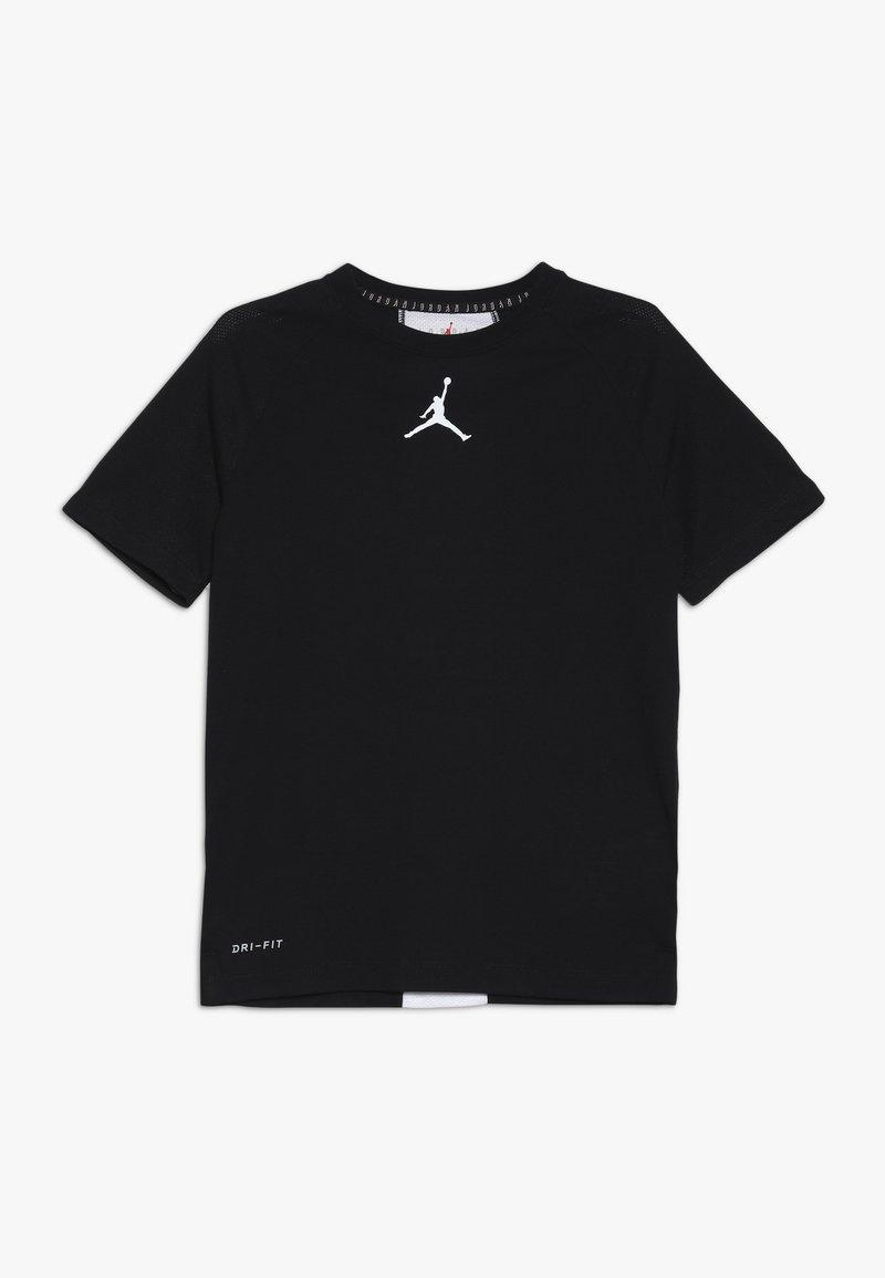 Jordan - 23 ALPHA DRY PANEL - Print T-shirt - black
