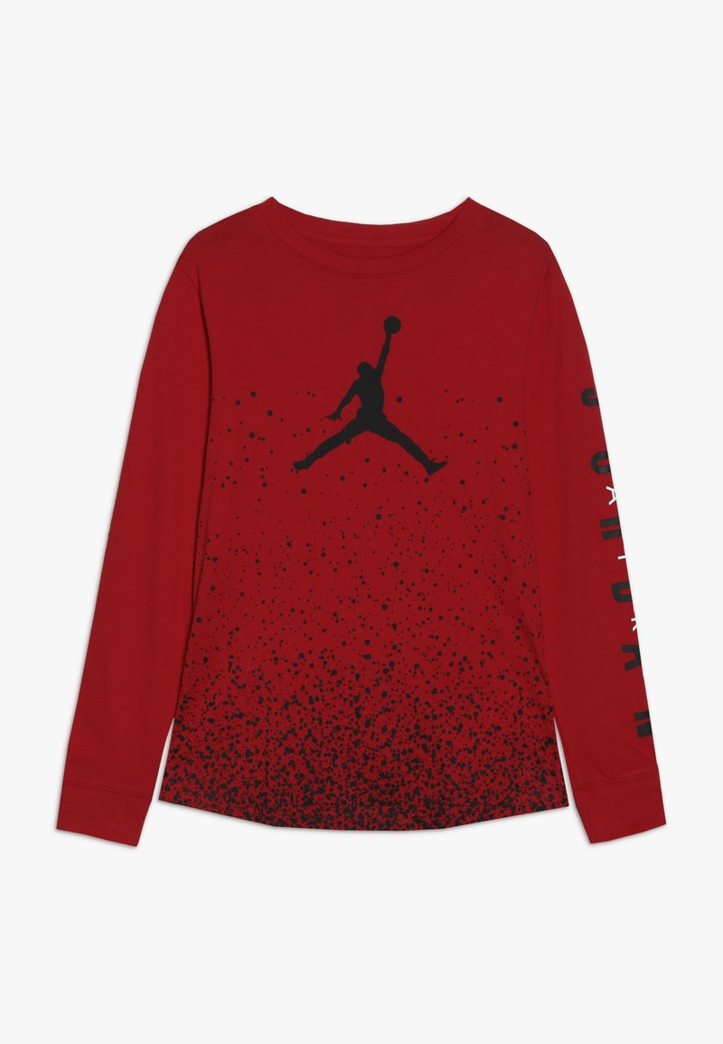Jordan - OMBRE SPECKLE TEE - Long sleeved top - gym red