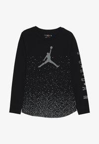 Jordan - OMBRE SPECKLE TEE - Pitkähihainen paita - black - 3