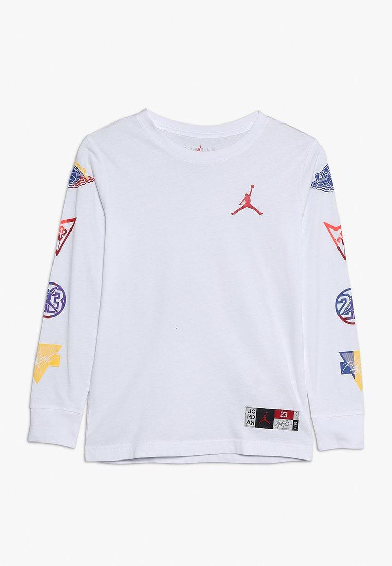Jordan - RIVALS PATCH - Långärmad tröja - white