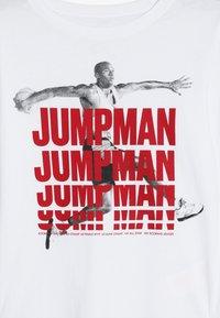 Jordan - JUMPMAN STACK TEE - Långärmad tröja - white - 3