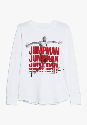 JUMPMAN STACK TEE - T-shirt à manches longues - white