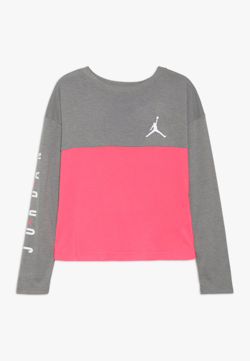 Jordan - BOX TEE - Long sleeved top - carbon heather