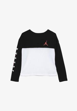 BOX TEE - Pitkähihainen paita - black