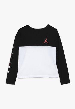 BOX TEE - Long sleeved top - black