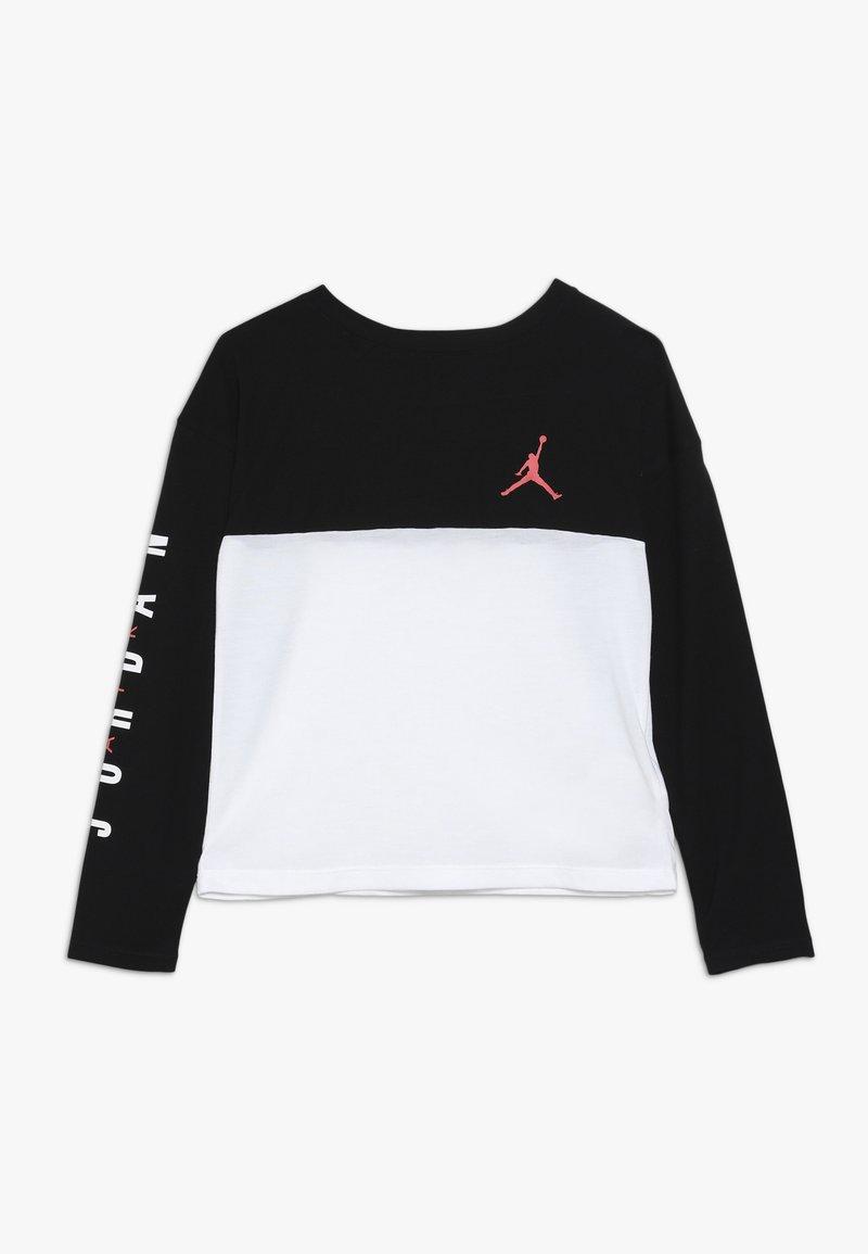 Jordan - BOX TEE - Long sleeved top - black