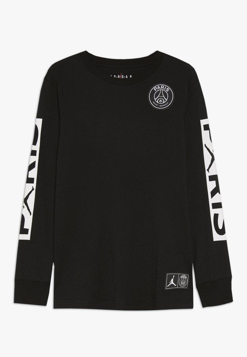 Jordan - PARIS ST GERMAIN LONGSLEEVE - Club wear - black