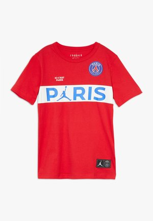 PSG WORDMARK TEE - Squadra - university red
