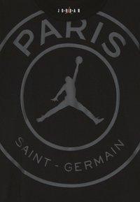 Jordan - PSG LOGO TEE - Klubové oblečení - black - 3