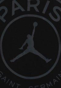 Jordan - PSG LOGO TEE - T-shirt imprimé - black - 3