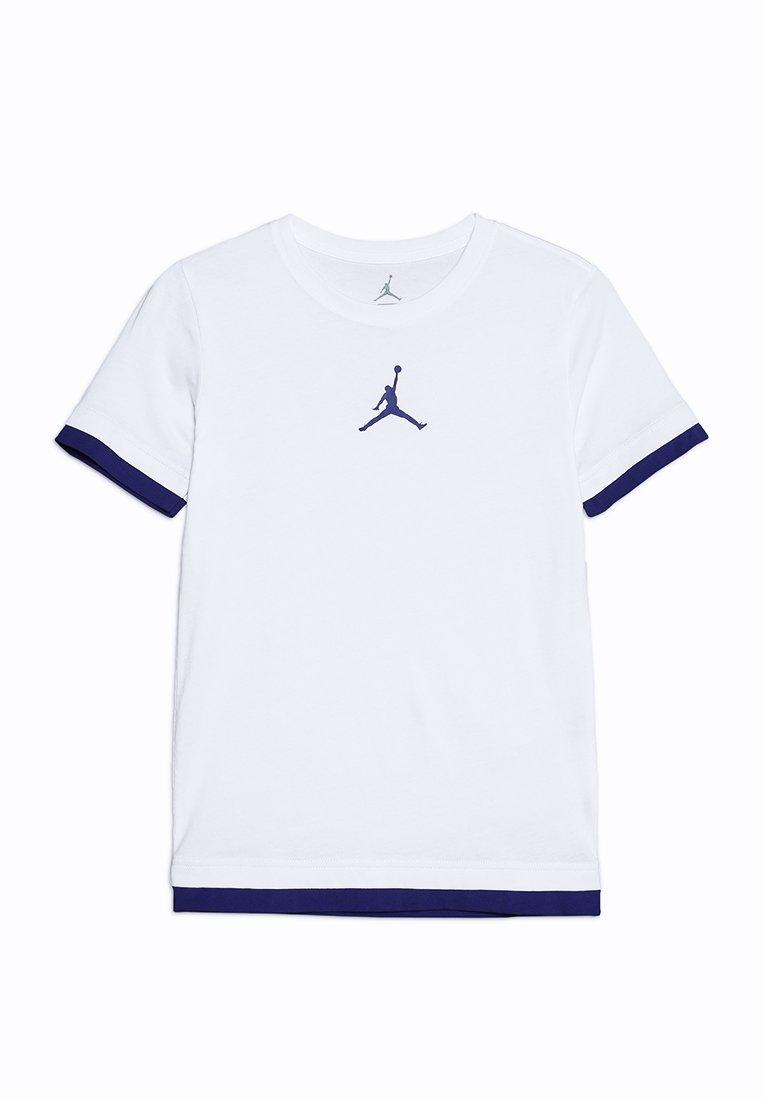 Jordan - JORDAN DOUBLE UP TEE - T-shirt con stampa - white