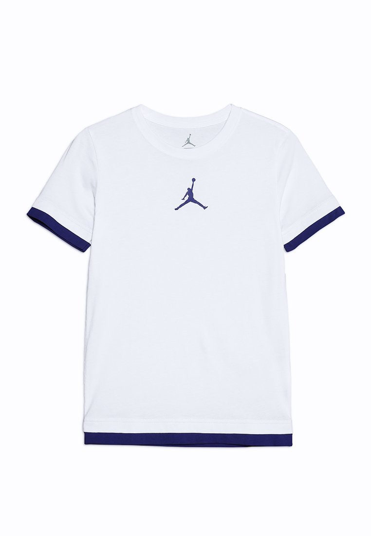 Jordan - JORDAN DOUBLE UP TEE - Print T-shirt - white