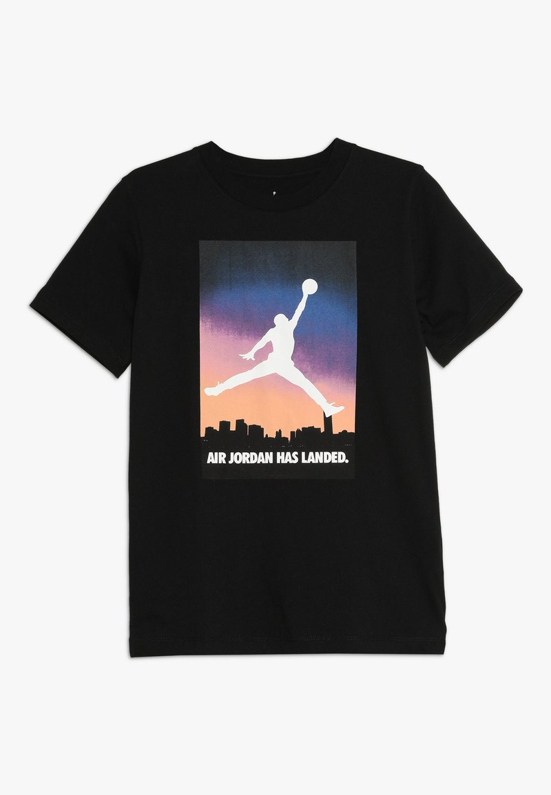 Jordan - BRAND TEE  - Camiseta estampada - black