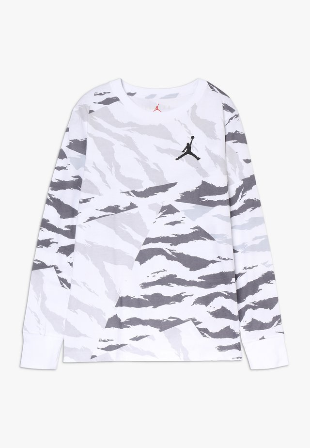 WINGS TEE - Long sleeved top - white