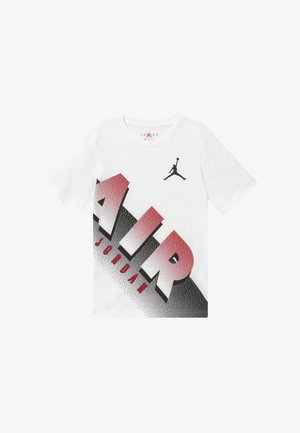 AIR MEZZO TEE - T-shirt z nadrukiem - white