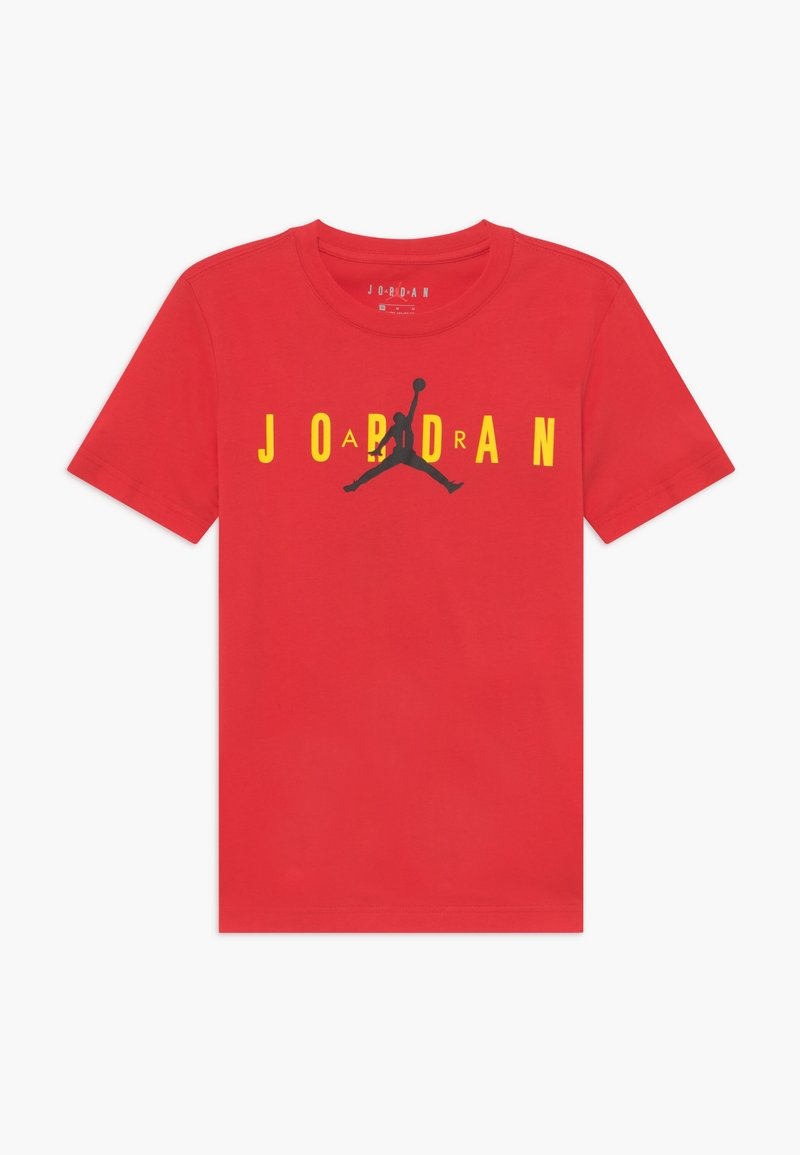 Jordan - SPORT DNA CREW - T-shirt print - red