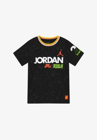 Jordan - SCHOOL OF FLIGHT TEE - Print T-shirt - black - 2