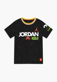 Jordan - SCHOOL OF FLIGHT TEE - Print T-shirt - black - 0