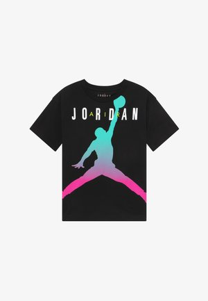 JORDAN FADEAWAY TEE - Camiseta estampada - black