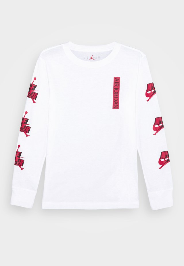 JUMPMAN CLASSICS - Long sleeved top - white