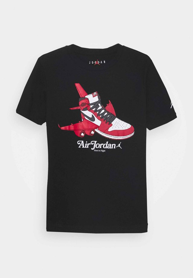 TAKEOFF - T-shirts med print - black