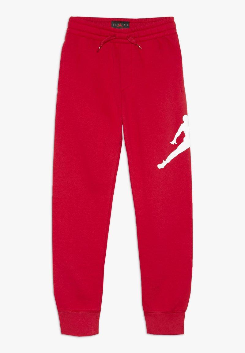 Jordan - JUMPMAN LOGO PANT - Teplákové kalhoty - gym red