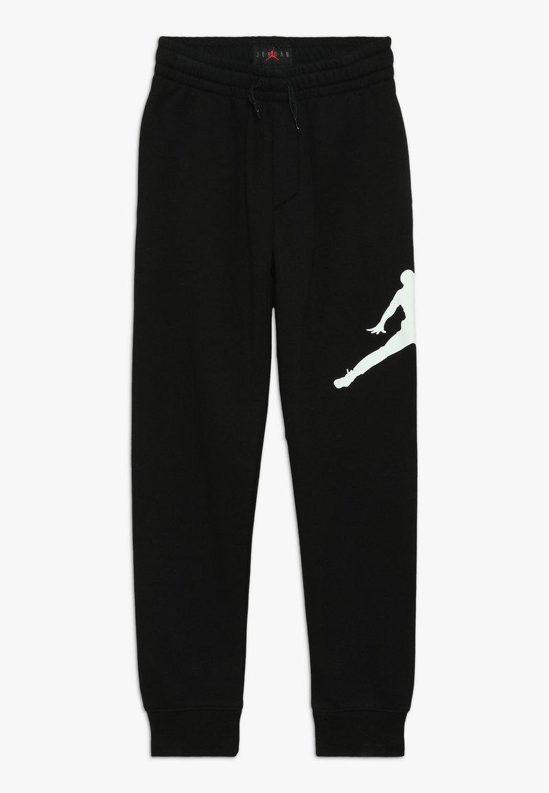 Jordan - JUMPMAN LOGO PANT - Verryttelyhousut - black