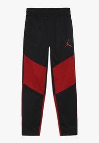 Jordan - SPORT PANT - Teplákové kalhoty - black/gym red - 0