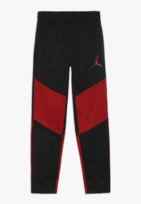 Jordan - SPORT PANT - Pantalon de survêtement - black/gym red - 0