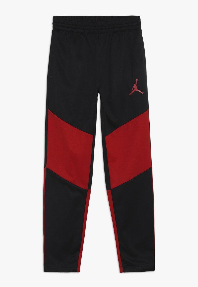 Jordan - SPORT PANT - Pantalon de survêtement - black/gym red