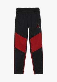 Jordan - SPORT PANT - Teplákové kalhoty - black/gym red - 2