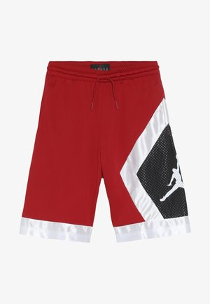 BLOCKED DIAMOND SHORT - Pantaloncini sportivi - gym red/white/black