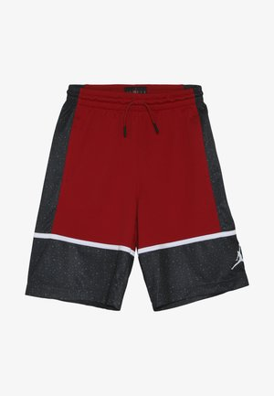 GRAPHIC PANEL SHORT - Sportovní kraťasy - gym red/black