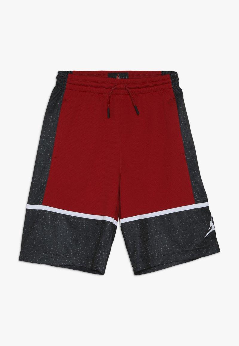 Jordan - GRAPHIC PANEL SHORT - Urheilushortsit - gym red/black