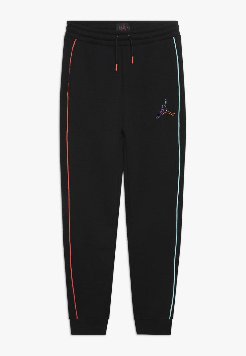 Jordan - AIR FUTURE TAPED PANT - Pantaloni sportivi - black