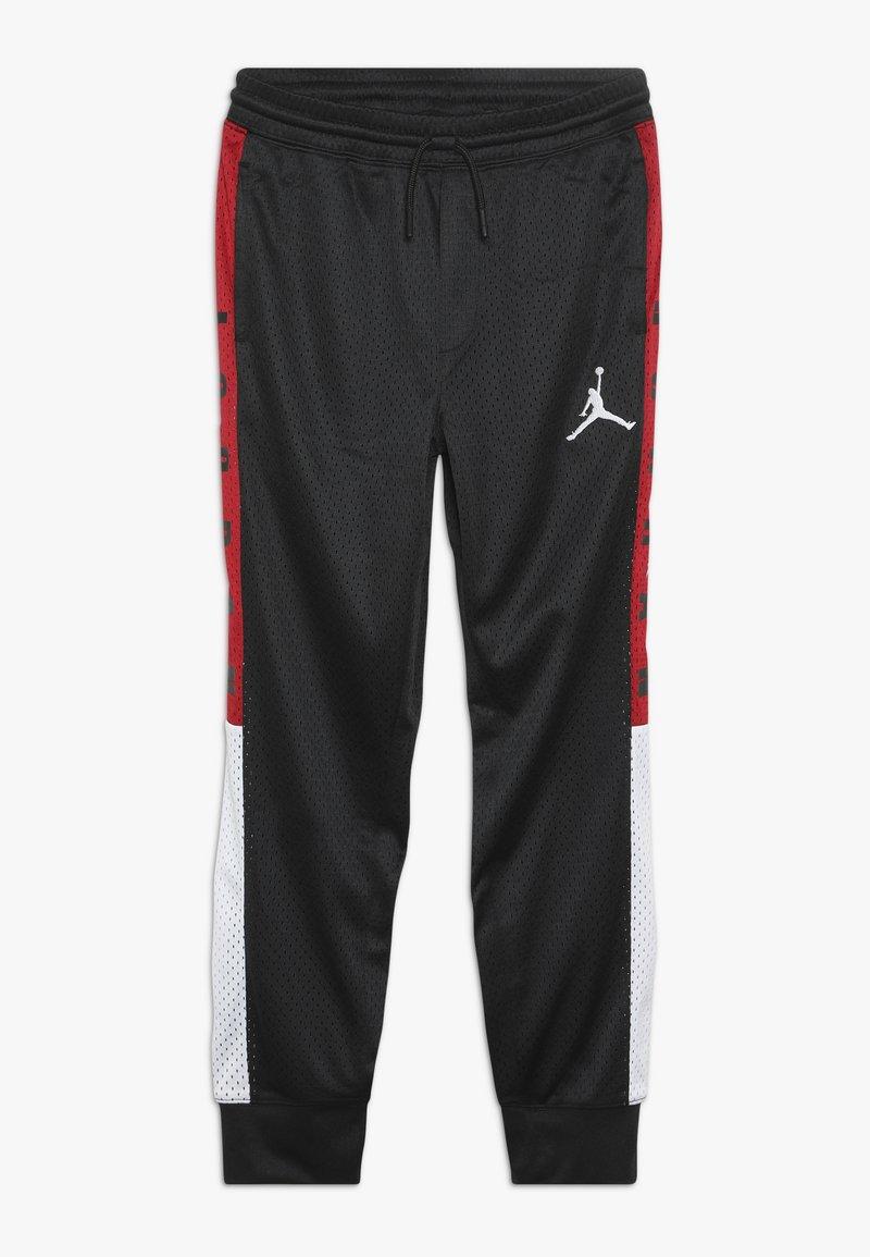 Jordan - SIDELINE JOGGER - Spodnie treningowe - black