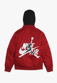 Jordan - HOODED AIR BOMBER - Giacca invernale - gym red - 1