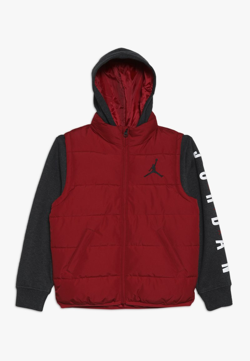 Jordan - JUMPMAN PUFFER - Vinterjacka - gym red