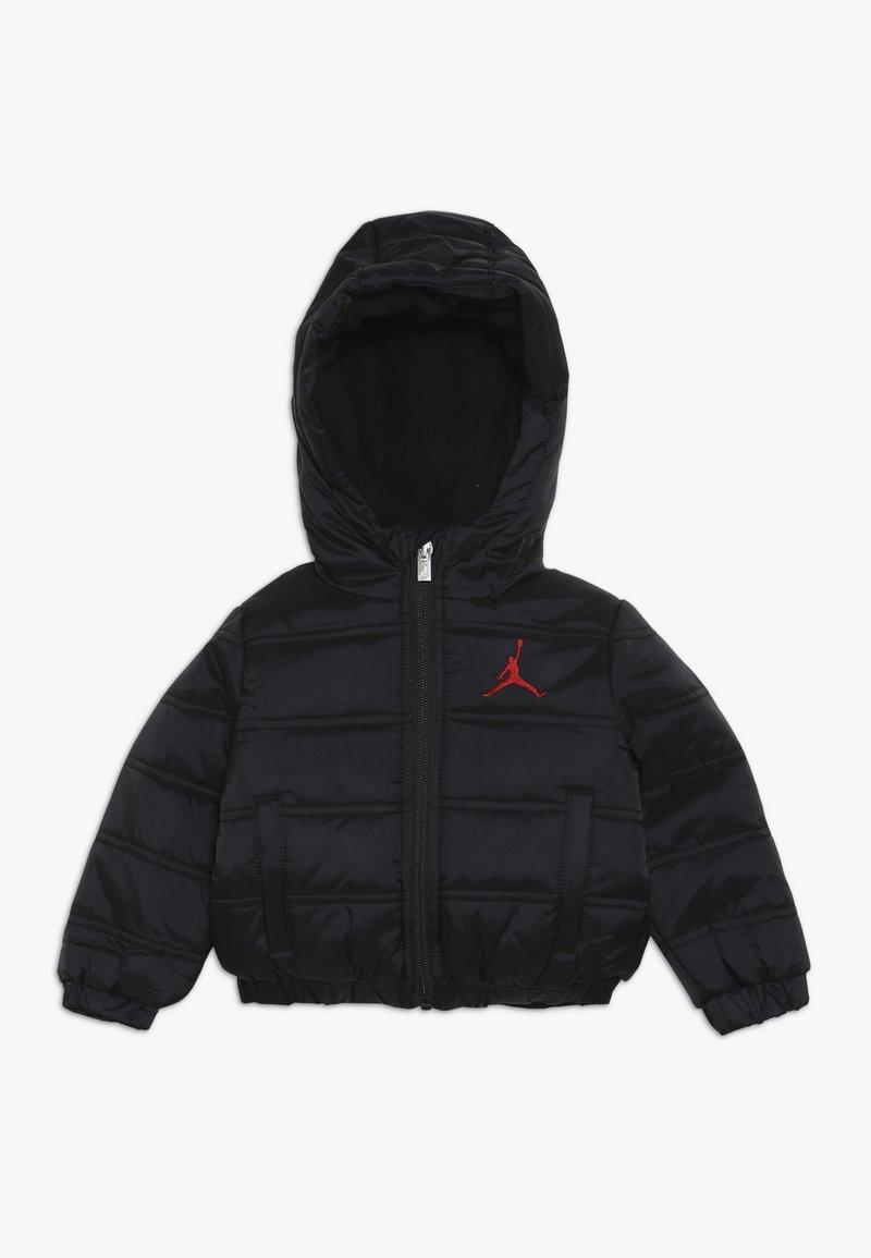 Jordan - HERITAGE PUFFER JACKET - Zimní bunda - black