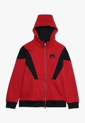 FLIGHT LITE HOODY - veste en sweat zippée - gym red