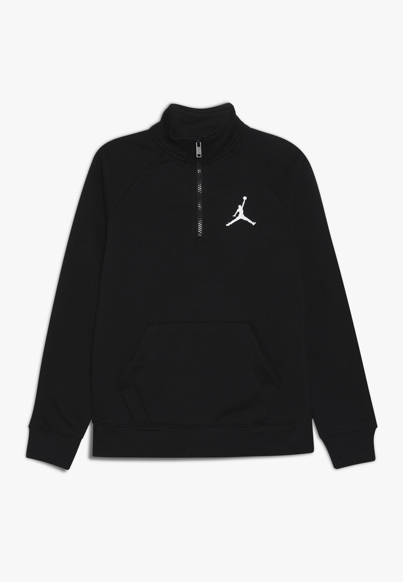 Jordan - JUMPMAN ZIP MOCK  - Sweatjacke - black