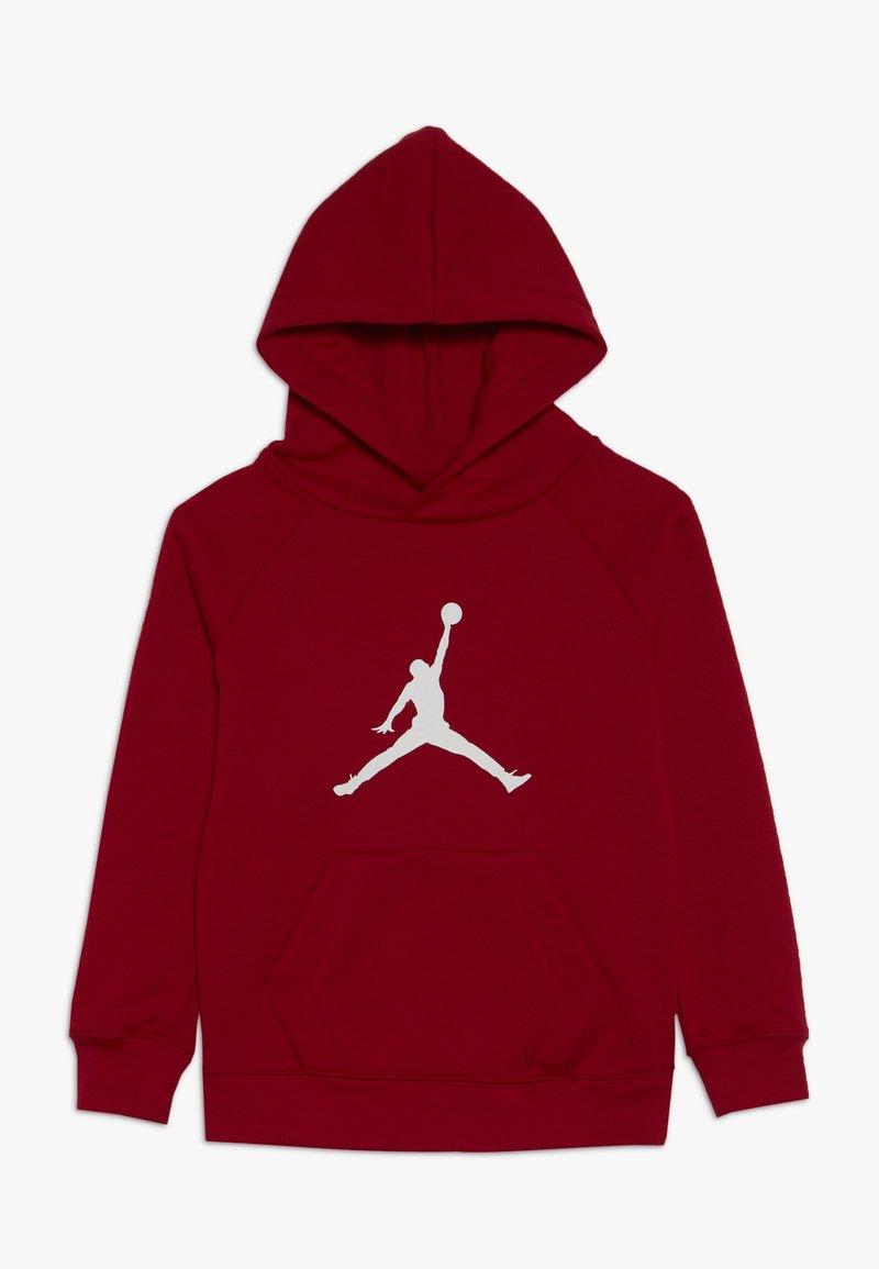 Jordan - JUMPMAN LOGO PULLOVER - Hoodie - gym red