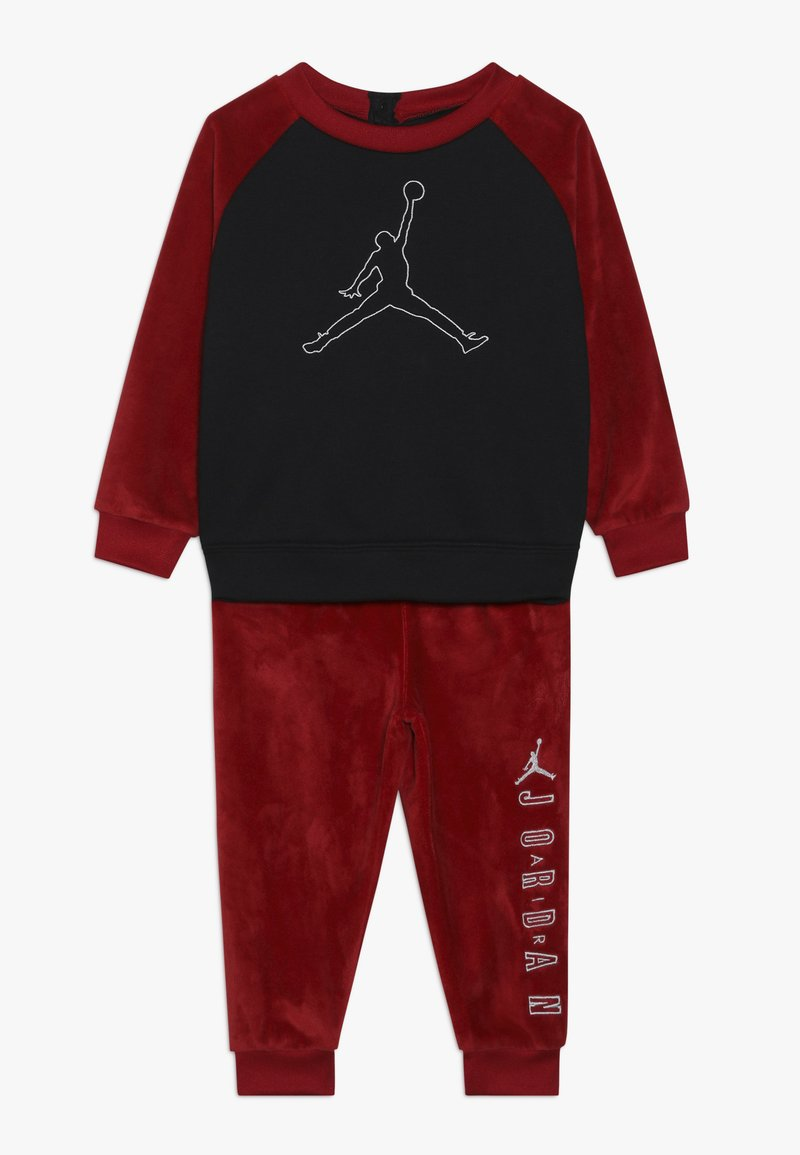 Jordan - JUMPMAN OUTLINE CREW - Tuta - gym red
