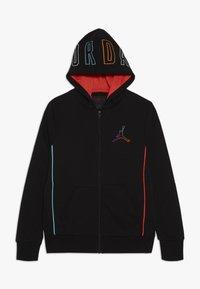 Jordan - AIR FUTURE HOODY - Zip-up hoodie - black - 0