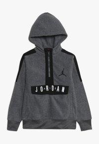 Jordan - JORDAN AIR 1/2 ZIP HOODIE - Hoodie - carbon heather - 0