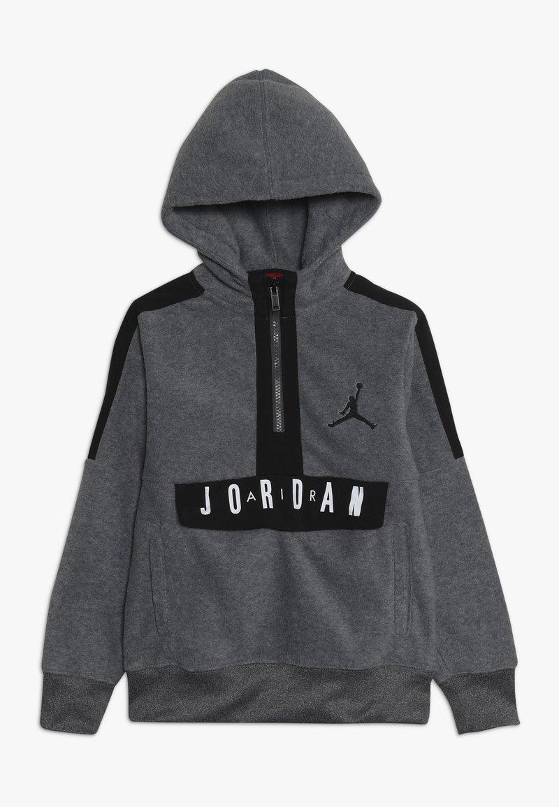 Jordan - JORDAN AIR 1/2 ZIP HOODIE - Hoodie - carbon heather