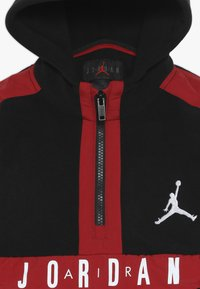 Jordan - JORDAN AIR 1/2 ZIP HOODIE - Sweat à capuche - black - 4